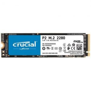 CRUCIAL P2 250GB SSD, M.2 2280, CT250P2SSD8, PCIe Gen3 x4, Read/Write: 2100/1150 MB/s, Random Read/Write IOPS: 170K/260K