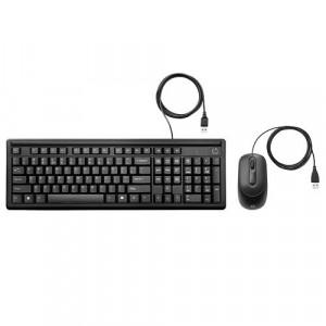 HP Bežinčna tastatura i miš 160 YU (Crna) 6HD76AA