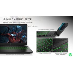 """HP Pavilion Gaming 15-ec1060nm 1U6G3EAR#BED RYZEN5-4600H (3.0GHz), NVIDIA GeForce GTX1050 3GB, 15.6"""" FHD LED, 16GB (2x8GB), SSD 512GB PCIe NVME, NO ODD, WIFI, BT, Webcam, Backlit Kbd, AC 135W - Win10 64"""