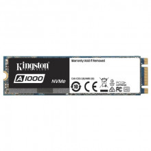 KINGSTON SSD 240GB, M.2 2280, PCIe NVMe™ Gen 3.0 x 2, A1000 Serija - SA1000M8/240G 240GB, M.2 2280, PCIe, do 1500 MB/s