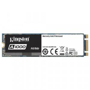 KINGSTON SSD 240GB, M.2 2280, PCIe NVMe™ Gen 3.0 x 2, A1000 Serija - SA1000M8/240G 240GB, M.2 2280, PCIe, do 1500 MB/s