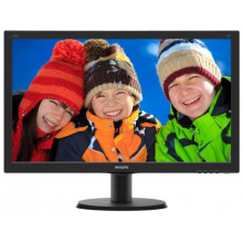 "Monitor 23.8"" Philips 240V5QDAB/00 IPS,FullHD 250cd/m2 DVI-D HDMI"