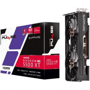 SAPPHIRE PULSE RX 5500 XT 4G GDDR6 128-bit HDMI/DP 11295-03-20G