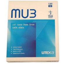 "SSD 7mm LiteOn 2.5"" 120GB MU3 PH6-CE120 SATA, do 560"