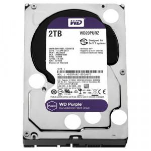 """WD 2TB SATA III, 64MB, 3.5"""", 5400rpm, Purple - WD20PURZ Interni, 3.5"""", SATA III, 2TB HDD"""