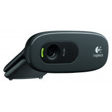 Web Camera Logitech C270, 1.3 Mpixel , HD ready video, Built-in microphone, USB 2.0, Black