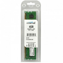 4 GB DDR3/1600, CRUCIAL CT51264BA160BJ, CL11, 1.5V