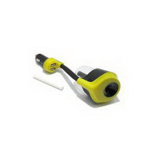 Auto punjac REMAX RT-C01 2 USB/2.1A sa ovlazivacem zuto-crni