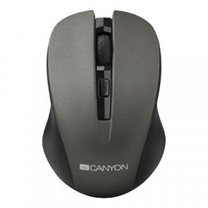 CANYON Bežični miš CNE-CMSW1G (Crno Sivi)