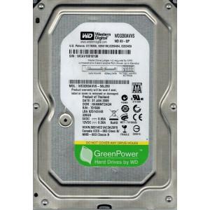 "Hard disk HDD SATA2 3.5"" 7200 WD AV-GP WD3200AVVS 320GB, 8MB"