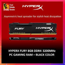 KINGSTON HyperX Fury Black 8GB DDR4 3200MHz CL16 - HX432C16FB3/8