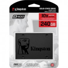 "KINGSTON SSDNow 240GB, 2.5"", SATA III, A400 Serija SA400S37/240G 2.5, SATA III, 240GB, do 500 MB/s"