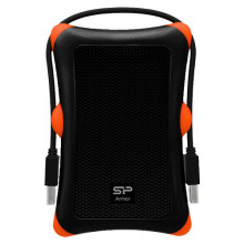 "SILICON POWER 1TB, 2.5"", USB 3.0, Armor A30 (Crni) - SP010TBPHDA30S3K"