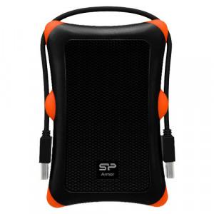 "SILICON POWER 1TB, 2.5"", USB 3.0, Armor A30 (Crni) - SP010TBPHDA30S3K"