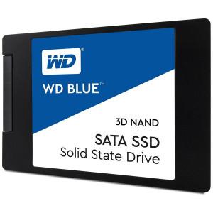 "SSD WD Blue WDS500G2B0A (2.5"", 500GB, SATA III 6 Gb/s, 3D NAND Read/Write: 560 / 530 MB/sec, Random Read/Write IOPS 95K/84K)"