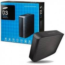 "HDD External 2TB SEAGATE MAXTOR D3 Station, HX-D201TDB/GM, USB 3.0, 3.5"", black"