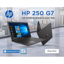 HP 250 G7 6BP88EAR i7-8565U 8GB 256GB SSD DVDRW Win 10 Pro