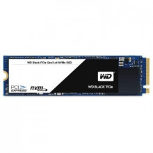 SSD WD Black (M.2, 256GB, PCIe Gen3 x4 NVMe-based, Read/Write: 2050 / 700 MB/sec, Random Read/Write IOPS 170K/130K)
