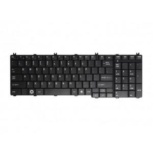 Tastatura za laptop za Toshiba C650/C660 crna