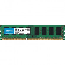 Crucial RAM 8GB DDR3L 1600 MT/s (PC3L-12800) CL11 Unbuffered UDIMM 240pin 1.35V/1.5V CT102464BD160B