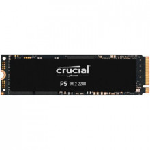Crucial SSD 500GB P5 M.2 NVMe PCIEx4 80mm Micron 3D NAND 3400/3000 MB/s, 5yrs, 7mm