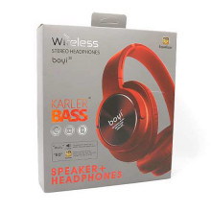 Slusalice BOYI 300BT Bluetooth crvene