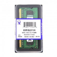 4 GB DDR3/1600 SO-DIMM, KINGSTON KVR16LS11/4, 1.35V, CL11