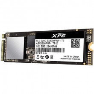 A-DATA ASX8200PNP-1TT-C 1TB M.2 PCIe Gen 3 x4 NVMe SSD