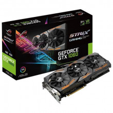 ASUS nVidia GeForce GTX 1060 6GB GDDR5 192bit - STRIX-GTX1060-6G-GAMING PCI Express 3.0, Nvidia, Nvidia GeForce GTX 1060, 6GB