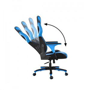 Gejmerska stolica GC-182 ALPHA plava FANTECH