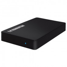 "MANHATTAN SATA HDD Enclosure - 0538165 2.5"", SATA I / II / III, USB 3.0, Metal, plastika"