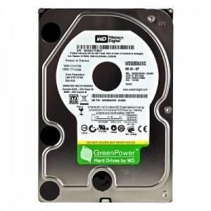 """SATA2 540HDD 3.5"""" SATA2 5400 500GB WD Caviar Green WD5000AADS, 32MB"""