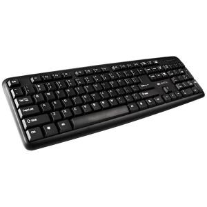 Tastatura USB US Canyon CNE-CKEY01-US, Crna