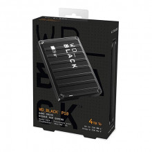 "WD EXT 2.5"" Black P10 Gaming 4TB WDBA3A0040BBK-WESN"
