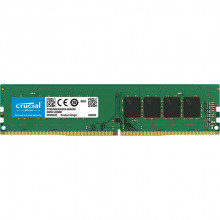 Crucial DRAM 16GB DDR4 3200 MT/s (PC4-25600) CL22 DR x8 Unbuffered DIMM 288pin, CT16G4DFD832A
