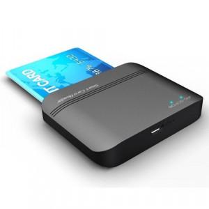 JAVTEC Smart Card čitač JAV-SCR08 Smart card čitač, Crna, Plastika/Aluminijum, Windows XP,Vista, 7,8,8.1,10, Mac OS X 10.2 i noviji