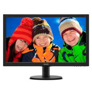 """Philips LCD 23.6"""" 243V5LHSB Full HD, 1ms, VGA, DVI, HDMI"""