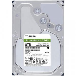 "Toshiba 8TB S300 Surveillance Hard Drive 7200rpm 3.5"" SATA 256MB Cache (HDWT380UZSVA)"