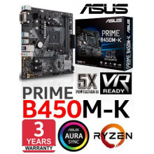 ASUS - SOCKET AM4 - PRIME B450M-K AMD