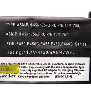 Baterija laptop Lenovo ThinkPad E450 11.4V-4120mAh. 45N1754