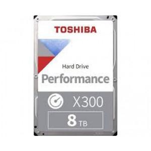 HDD Desktop Toshiba X300 HDWR180UZSVA (3.5'' 8TB, 7200RPM, 256MB, SATA 6Gb/s), bulk