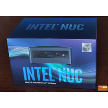 "Intel® NUC 10 (BXNUC10I7FNH2) Mini PC Intel NUC 10 Performance kit NUC10i7FNH with Intel Core i7-10710U, M.2 and 2.5"" Drive, HDMI 2.0a; USB-C (DP1.2), w/ EU cord"