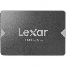 LEXAR NS100 256GB SSD, 2.5, SATA (6Gb s), up to 520MB s Read and 440 MB s write ( LNS100-256RB