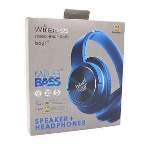 Slusalice BOYI 300BT Bluetooth plave
