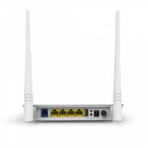 Tenda D301 Modem ADSL 2+ Router Wi-Fi N300 with USB 2.0