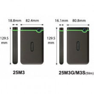 TRANSCEND Eksterni HDD 4TB StoreJet 25M3 TS4TSJ25M3S