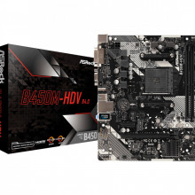 ASRock AMD MB B450M-HDV AM4