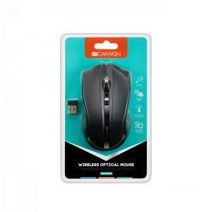 Canyon CNE-CMSW05B bežični optički miš 1600dpi crni