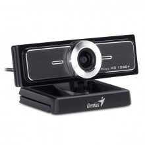 Genius WideCam F100 web kamera crno srebrna