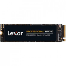 LEXAR NM700 256GB SSD, M.2, PCIe Gen3x4, up to 3500 MB/s read and 1200 MB/s write LNM700-256RB